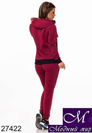 Красивый женский спортивный костюм (р. S, M, L) арт. 27422, фото 2