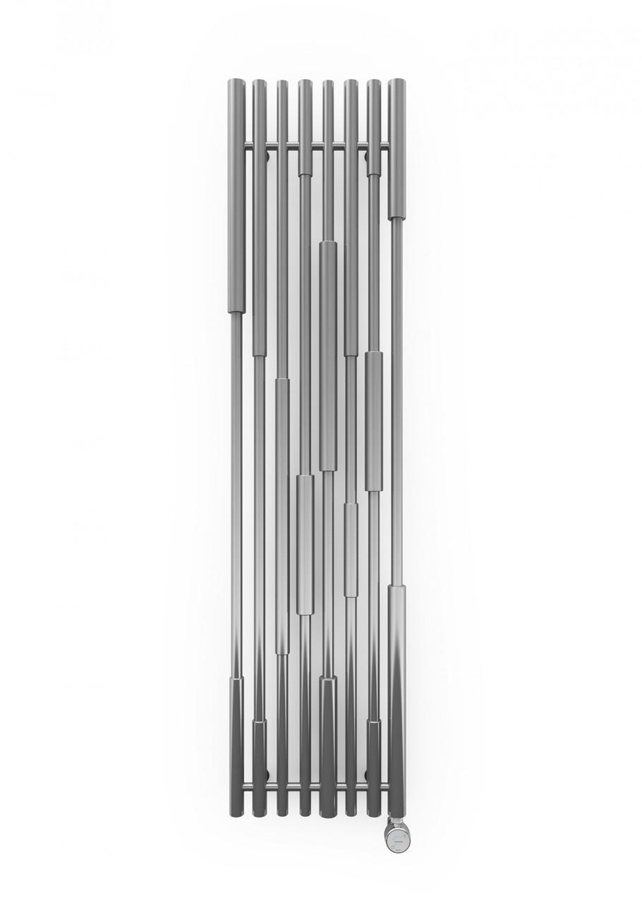TERMA Дизайн радиатор электрический Cane 1300*390 Chrome Effect