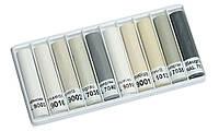 Крейда воскова для подряпин. Відтінки сіро-білі, 10 шт. x 8 cм., фото 1