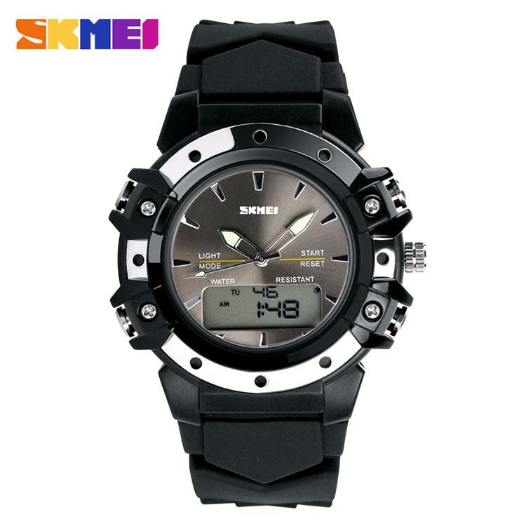 Skmei 0821 Easy II черные спортивные женские часы