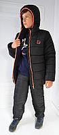 Куртка детская зимняя тёплая на флисе , для мальчика, р-р 122