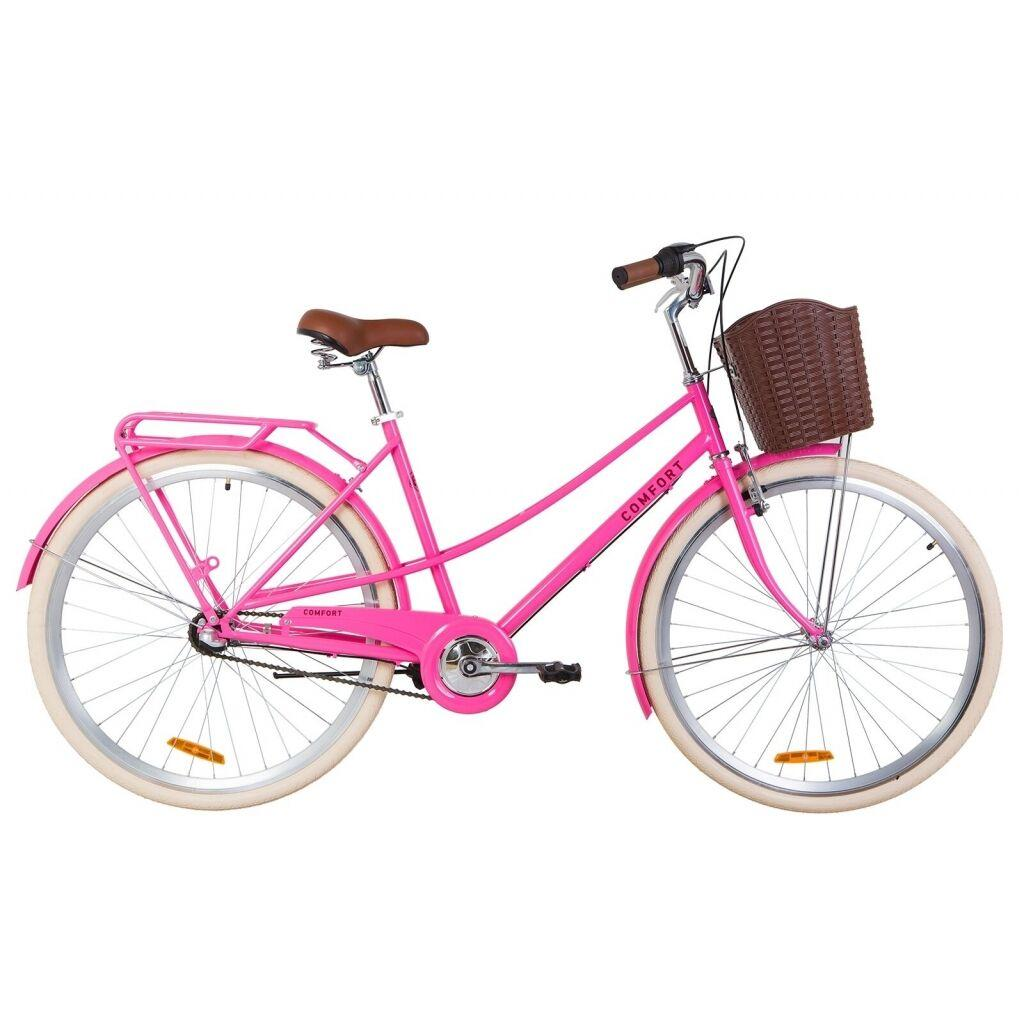 "Велосипед Dorozhnik 28"" COMFORT FEMALE PH 2019 (персиковый) (OPS-D-28-127)"