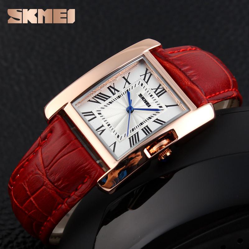 Skmei 1085 Spring красные женские классические часы