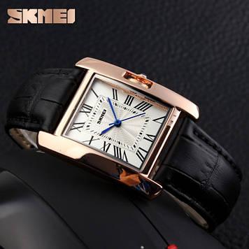 Skmei 1085 Spring Черные женские классические часы