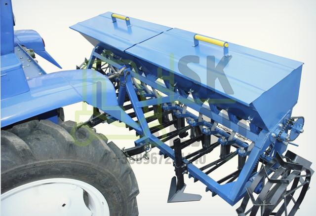 Сеялка зерновая 12 рядная для минитрактора ( СЗ-2)