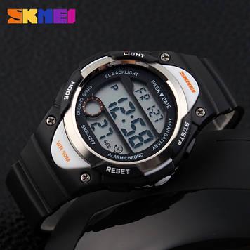 Детские  часы Skmei 1077 Черные