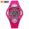 Skmei 1077 розовые детские спортивные часы, фото 2