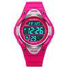 Skmei 1077 розовые детские спортивные часы, фото 3