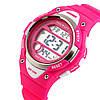 Skmei 1077 розовые детские спортивные часы, фото 4
