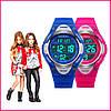 Skmei 1077 розовые детские спортивные часы, фото 7