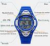 Skmei 1077 синие детские  часы, фото 5