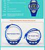 Skmei 1077 синие детские  часы, фото 6