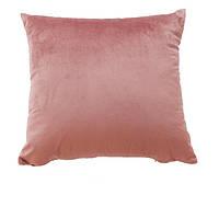 Декоратинвні подушки з велюру кольорові однотонні