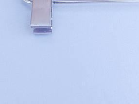 Плечики вешалки комиссионные  б/у матово-прозрачные для брюк и юбок, длина 36 см, фото 3