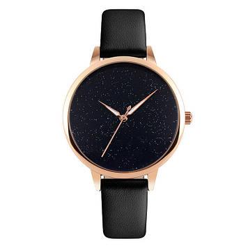 SKMEI 9141 MOON черные оригинальные женские часы