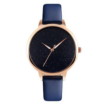 Оригинальные женские часы SKMEI  MOON 9141 синие