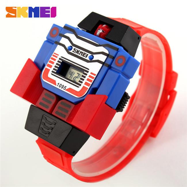 Детские  часы Skmei 1095 Красные