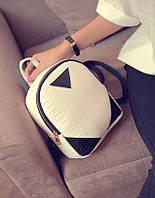 Женский белый рюкзак Оwl