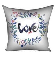 Декоративні подушки на подарунок з габардину