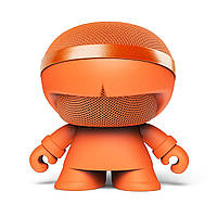 Беспроводная блютуз колонка - стереосистема XOOPAR - XBOY GLOW(12cm,оранж.,Bluetooth,MP3/SD-карт,микр.,аудио&USB-каб.,LED) (XBOY31007.20G)