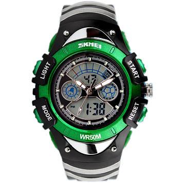 Детские спортивные часы Skmei 0998 зеленые