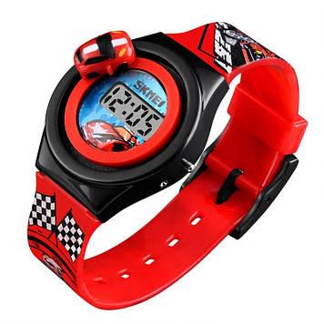 Детские часы с машинкой Skmei 1376