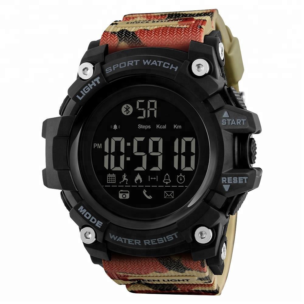 Skmei 1385 камуфляж спортивные часы с шагомером Smart