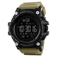 Спортивные мужские часы Skmei  Smart 1385Хаки