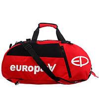 Сумка-рюкзак Europaw красная М, фото 1