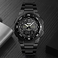 Skmei 1370 MARSHAL черные мужские спортивные часы на браслете