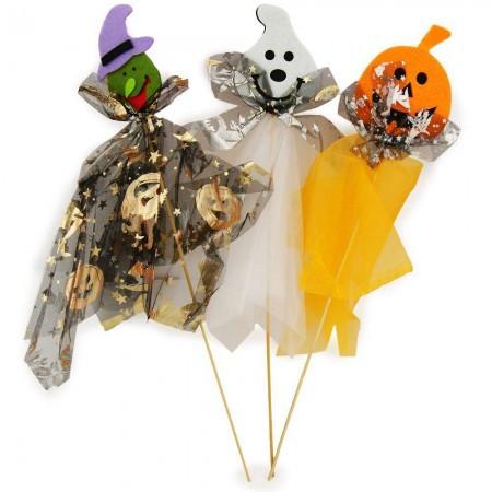 Декор Хэллоуин на палочке уп. 3шт