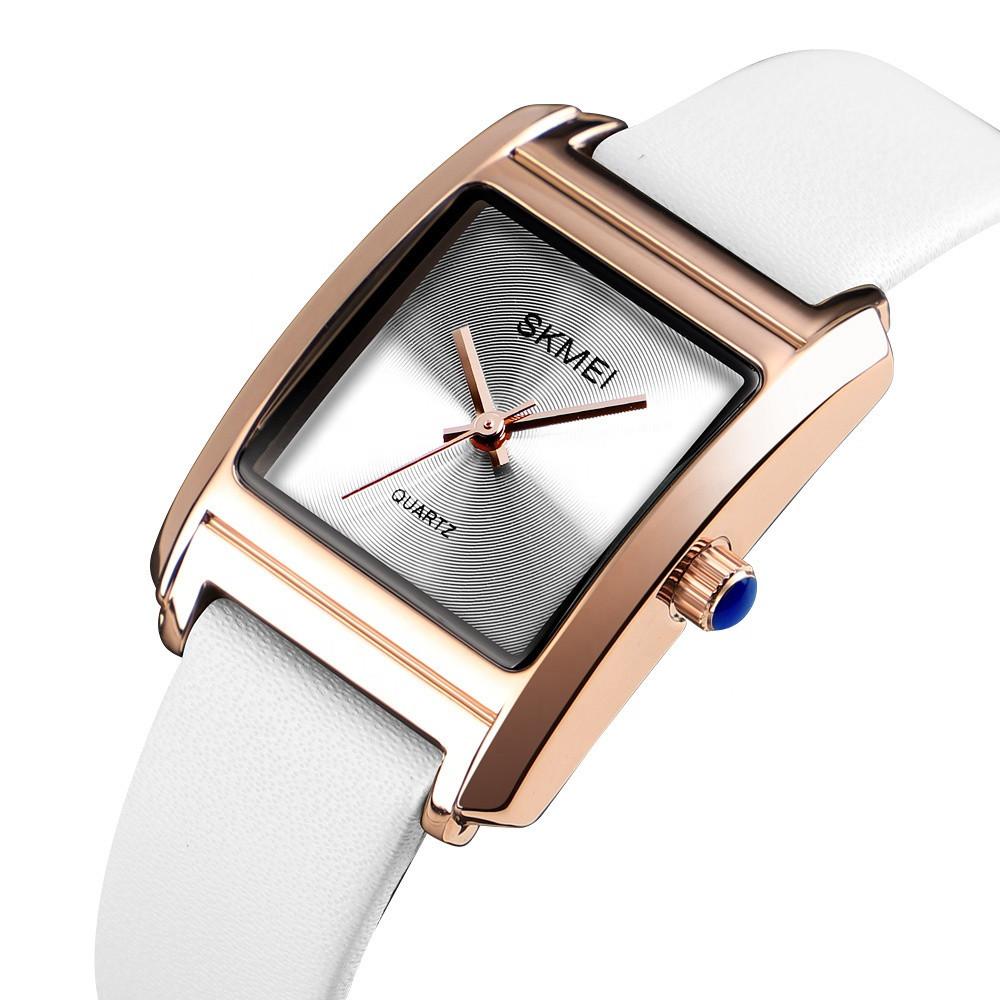 Оригинальные женские часы Skmei 1432 Белые