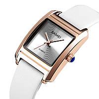 Skmei 1432 белые оригинальные женские часы