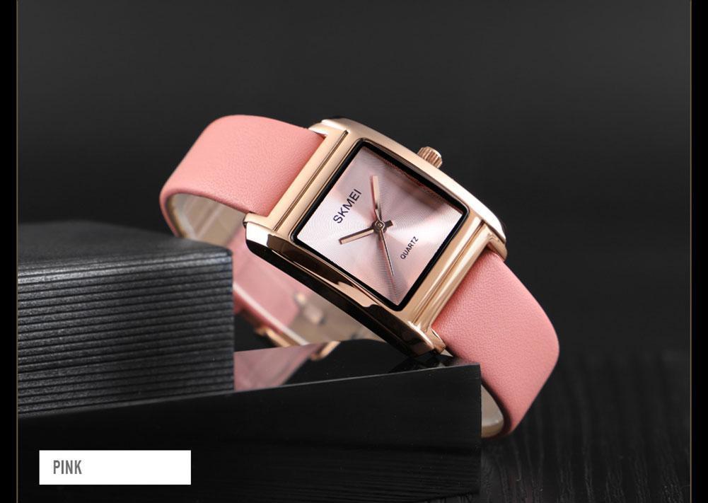 Оригинальные женские часы Skmei 1432 Розовые