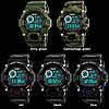 Skmei 1019 черные с чиним спортивные мужские часы, фото 7
