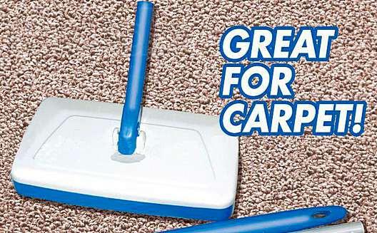 Швабра - веник Magic Sweeper для уборки полов 3 в 1