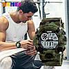 Спортивные мужские часы Skmei 1019 зеленый камуфляж, фото 6
