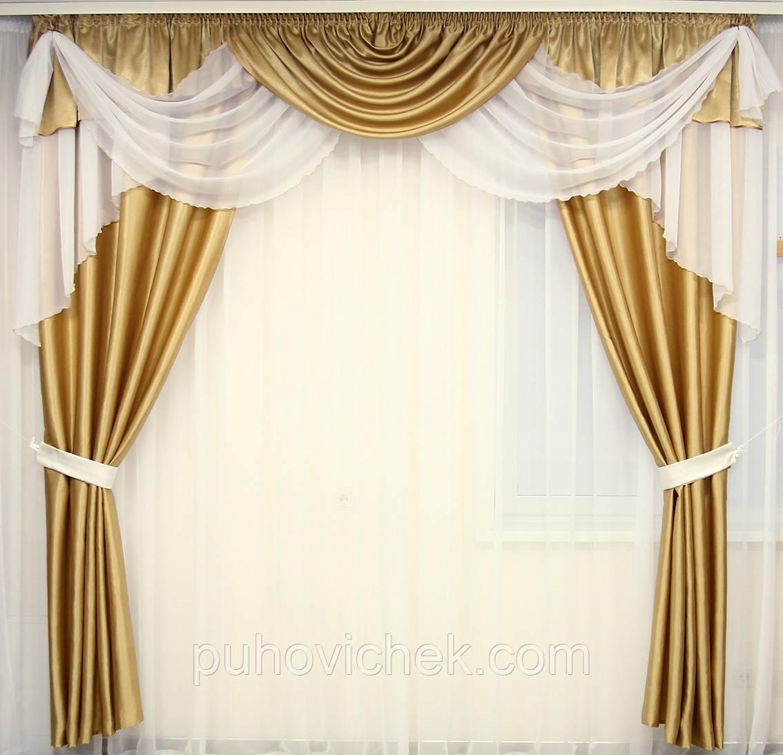 Готовые шторы для гостинной