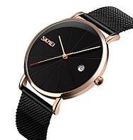 Skmei 9183 Tiger черные с золотом оригинальные наручные часы