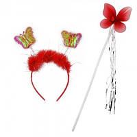Набор бабочки Феи красный