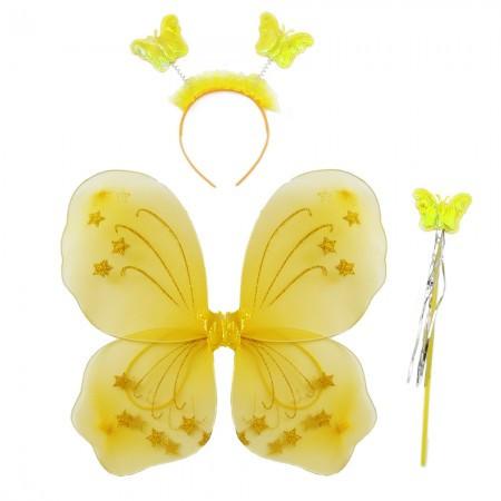 Набор Бабочки 45х35см желтый