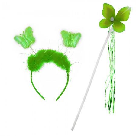 Набор бабочки Феи зеленый