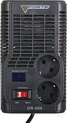 Стабилизатор  напряжения FORTE DR-600(цифр.дисплей)