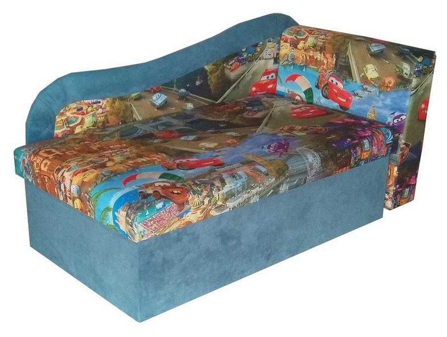 Детский диван Марко ЭКО Маквин + синий