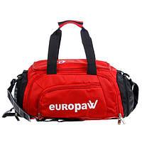 Сумка-рюкзак Europaw червона S, фото 1