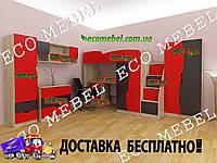 Детская комната для мальчика ТИНЕЙДЖЕР МДФ
