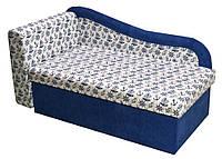 Детский диван Марко ЭКО Принт Кидс С36 + синий