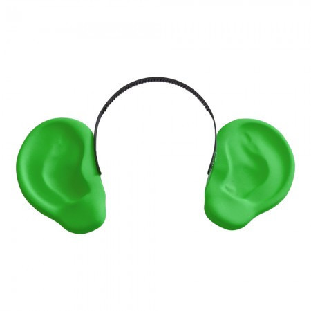 Аксессуар на ободке Уши локаторы зеленые