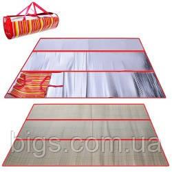 Пляжная подстилка сумка Солома 120*180см ( коврик для пляжа )