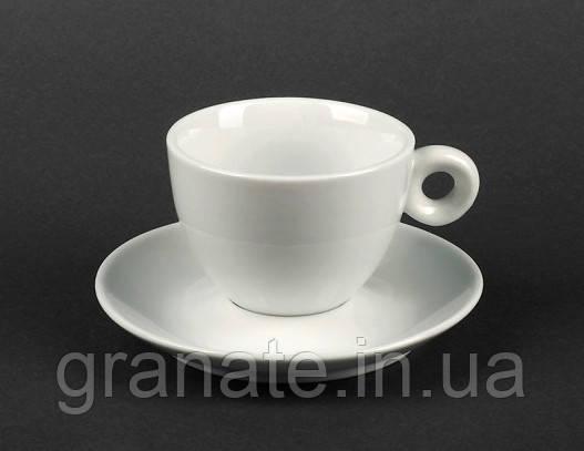 Набор Чашка с блюдцем 200 мл, фарфор 6 шт